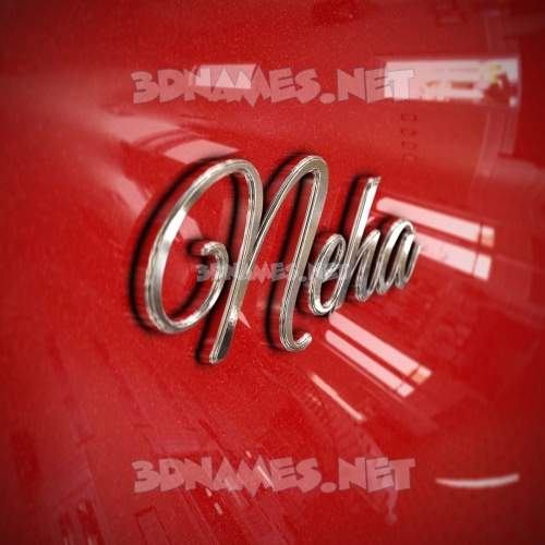 Car Paint 3D Name for neha