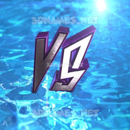 Water 2015 3D Name for vs