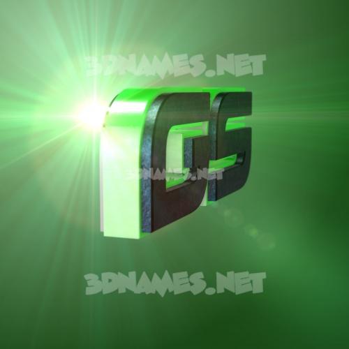 Green Light 3D Name for gs