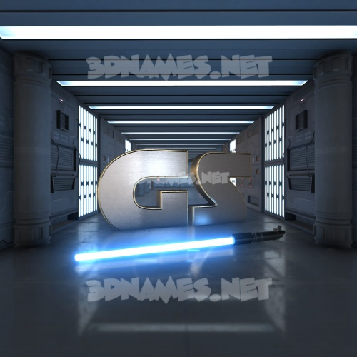 Light Saber 3D Name for gs