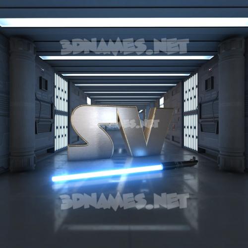 Light Saber 3D Name for sv