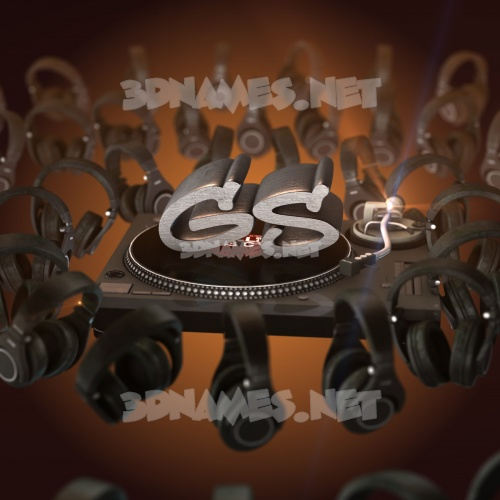 DJ Yourself 3D Name for gs