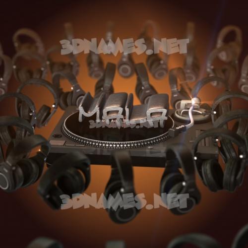 DJ Yourself 3D Name for mala