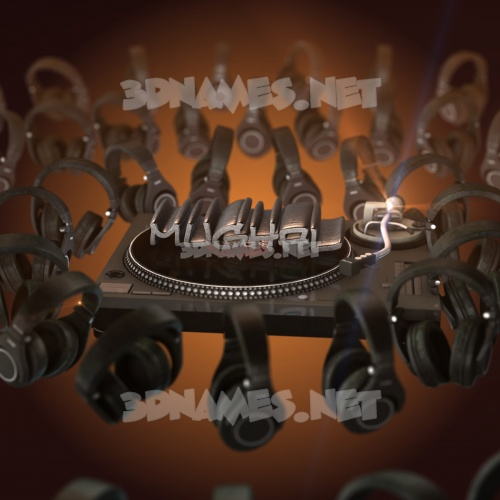 DJ Yourself 3D Name for mughal