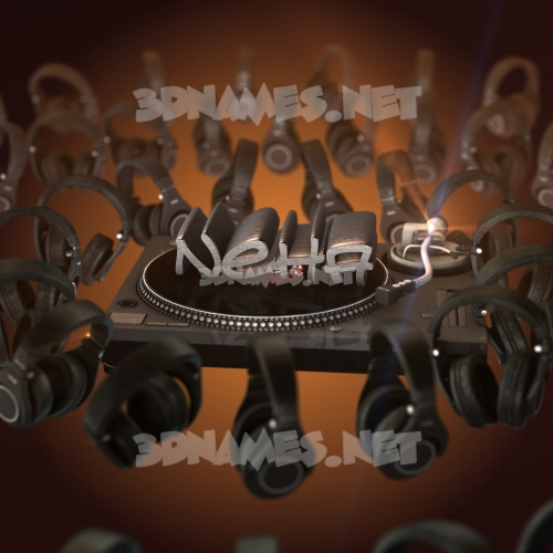 DJ Yourself 3D Name for neha
