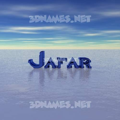 Horizon 3D Name for jafar