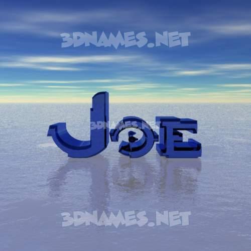 Horizon 3D Name for joe