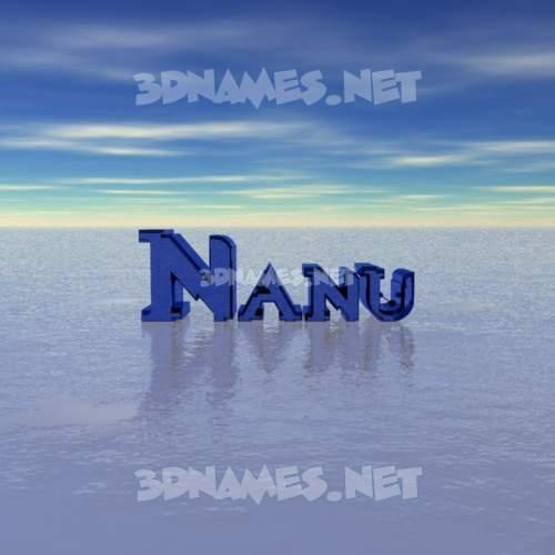 Horizon 3D Name for nanu