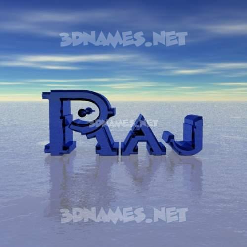 Horizon 3D Name for raj