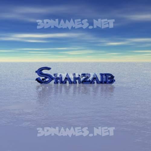 Horizon 3D Name for shahzaib