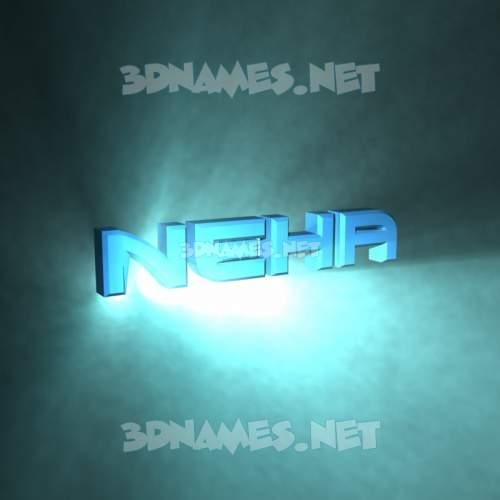 Light Shine 3D Name for neha