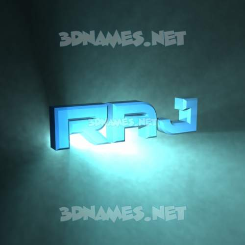 Light Shine 3D Name for raj
