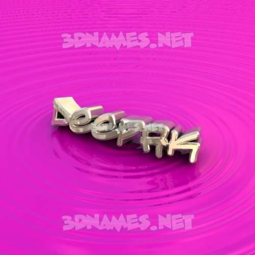 Pink Graffiti 3D Name for deepak