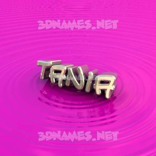 Pink Graffiti 3D Name for tania