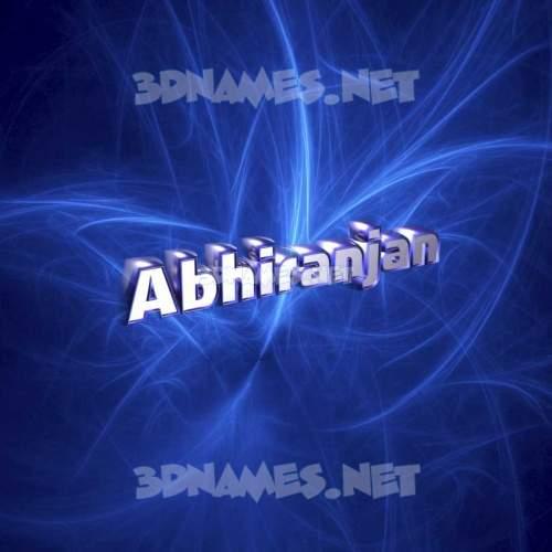 Plasma 3D Name for abhiranjan