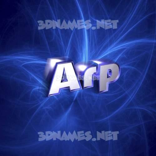 Plasma 3D Name for arp