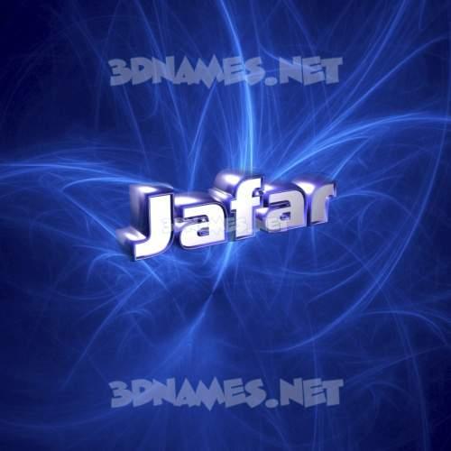 Plasma 3D Name for jafar