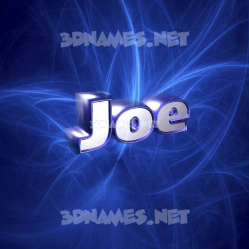 Plasma 3D Name for joe