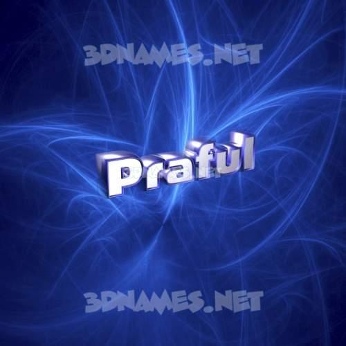 Plasma 3D Name for praful