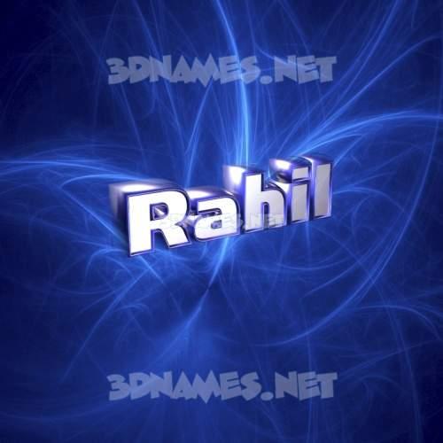 Plasma 3D Name for rahil