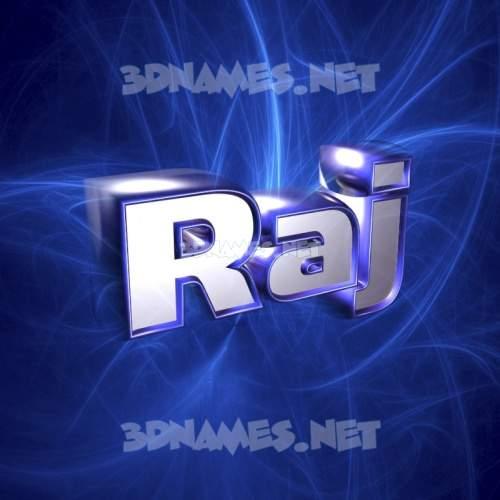 Plasma 3D Name for raj