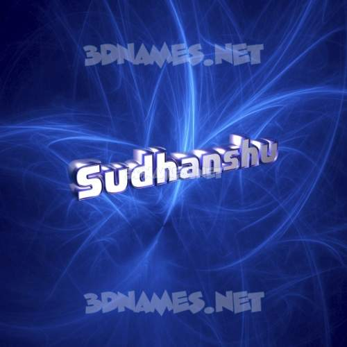 Plasma 3D Name for sudhanshu