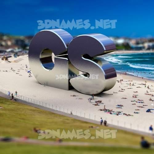 Bondi Beach 3D Name for gs