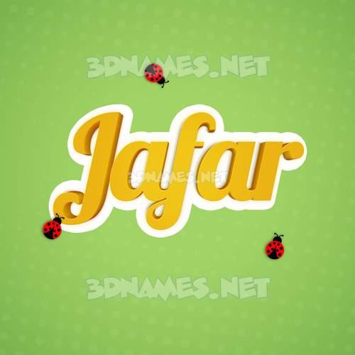 Ladybugs 3D Name for jafar